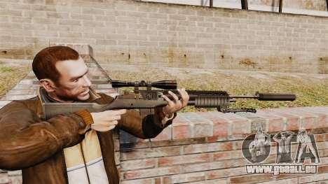 M21 sniper rifle v1 pour GTA 4