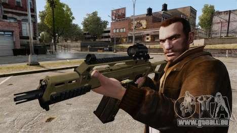 HK G36c pour GTA 4 quatrième écran