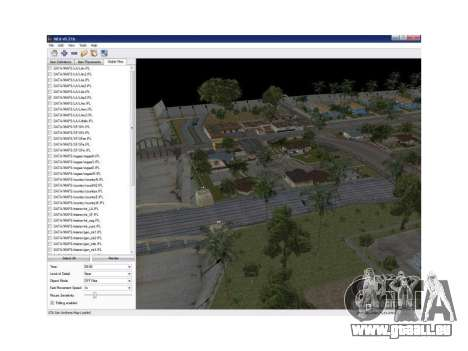 Map Editor 0.21b pour GTA San Andreas
