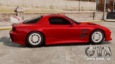 Mazda RX-7 pour GTA 4 est une gauche