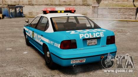 LCPD Police Patrol für GTA 4 hinten links Ansicht