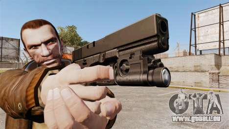 Pistolet Glock 20 pour GTA 4 quatrième écran