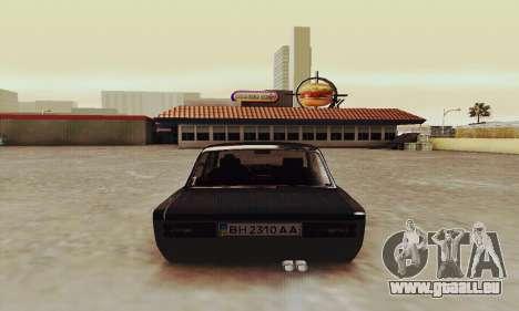 VAZ 2106 Zielonka pour GTA San Andreas vue de droite