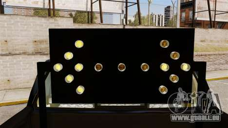 Ford F-150 v3.3 NYPD [ELS & EPM] v2 pour GTA 4 est une vue de l'intérieur