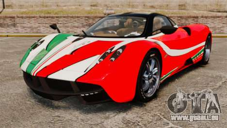 Pagani Huayra 2011 [EPM] Italian pour GTA 4