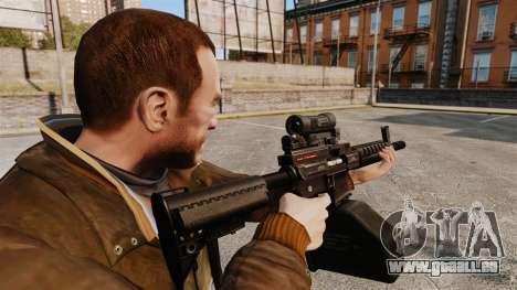 Ares Shrike für GTA 4 Sekunden Bildschirm