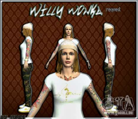 Willy Wonky pour GTA San Andreas
