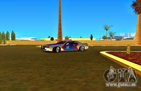 Dodge Challenger Indonesian Police pour GTA San Andreas vue de droite