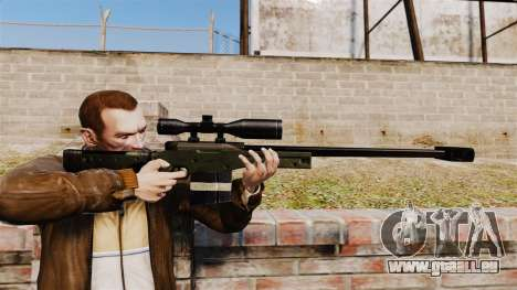 Accuracy International AW50F pour GTA 4