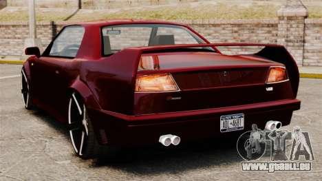Probe V12 HD pour GTA 4 Vue arrière de la gauche