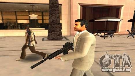Michaels Haut von GTA V für GTA San Andreas zweiten Screenshot