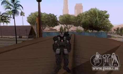 Skins Pack - Iron man 3 pour GTA San Andreas deuxième écran