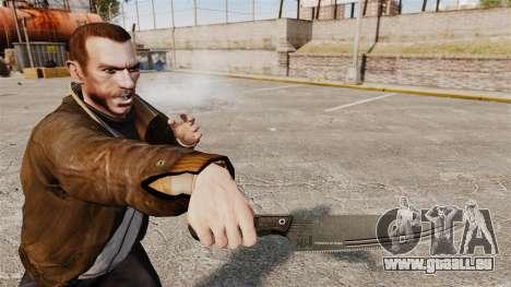 Couteau de cuisine H & K pour GTA 4 troisième écran