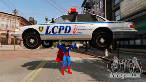 Script pour Superman pour GTA 4