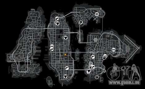 Piste vertigineuse pour GTA 4 huitième écran
