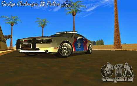 Dodge Challenger Indonesian Police pour GTA San Andreas