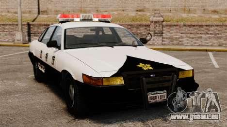 Japanische Polizei für GTA 4