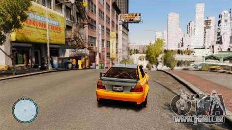 Tacho AdamiX v5 für GTA 4 Sekunden Bildschirm