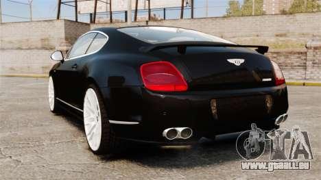 Bentley Continental GT Imperator Hamann EPM für GTA 4 hinten links Ansicht