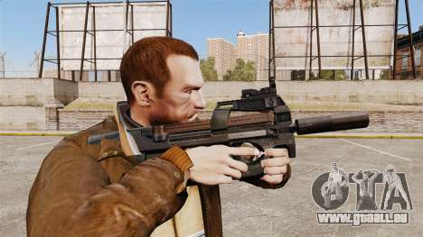 Belgische FN P90 Maschinenpistole v1 für GTA 4