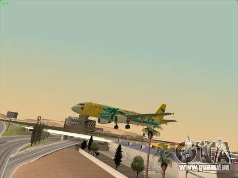 Airbus A320-211 Cebu Pacific Airlines pour GTA San Andreas moteur