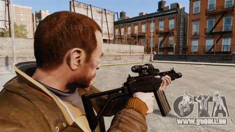 FN FAL DSA pour GTA 4 troisième écran