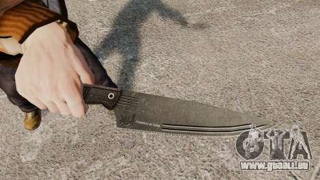 Couteau de cuisine H & K pour GTA 4 secondes d'écran