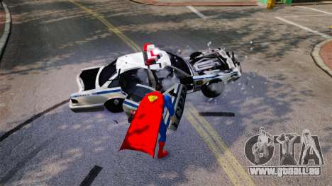 Script pour Superman pour GTA 4 quatrième écran
