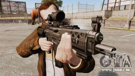 Le fusil d'assaut SIG 552 pour GTA 4 troisième écran