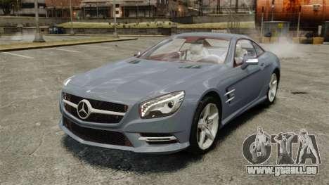 Mercedes-Benz SL500 2013 pour GTA 4
