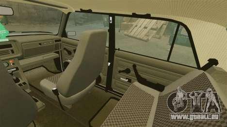 VAZ-2107 pour GTA 4 Salon