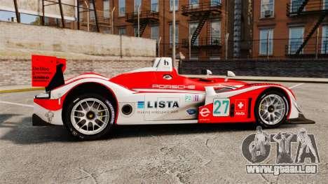 Porsche RS Spyder Evo pour GTA 4 est une gauche