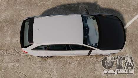 Audi RS4 Avant 2013 Sport v2.0 für GTA 4 rechte Ansicht