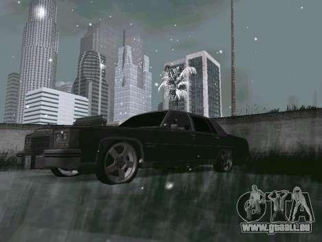 Winter Color Mod pour GTA San Andreas deuxième écran