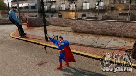 Script pour Superman pour GTA 4 cinquième écran