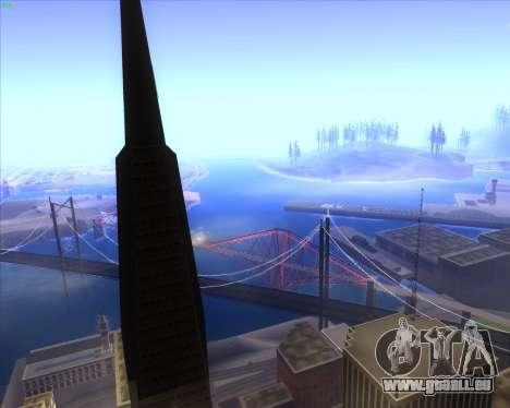 ENBSeries by MatB1200 pour GTA San Andreas deuxième écran