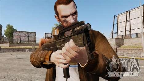 Magpul FMG Maschinenpistole-9 für GTA 4 dritte Screenshot