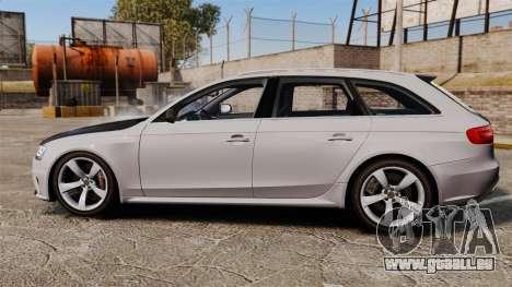 Audi RS4 Avant 2013 Sport v2.0 für GTA 4 linke Ansicht