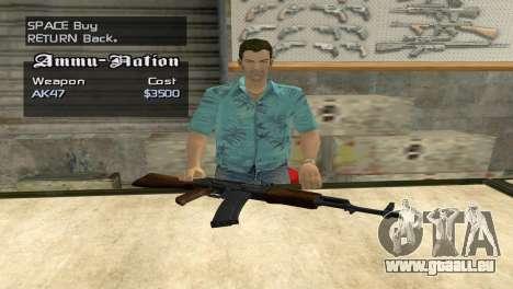 Full Weapon Pack pour GTA San Andreas cinquième écran