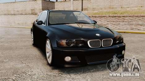 BMW M3 Coupe E46 pour GTA 4