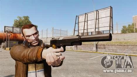 Colt 1911 pistolet v1 pour GTA 4 troisième écran
