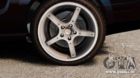 Ford Mustang Shelby GT500KR 2008 für GTA 4 Rückansicht