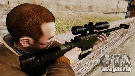 Accuracy International AW50F pour GTA 4 secondes d'écran
