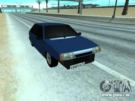 VAZ 2108 une douzaine bleu pour GTA San Andreas