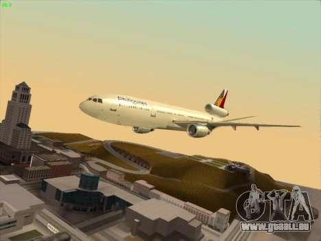 McDonell Douglas DC-10 Philippines Airlines für GTA San Andreas Seitenansicht