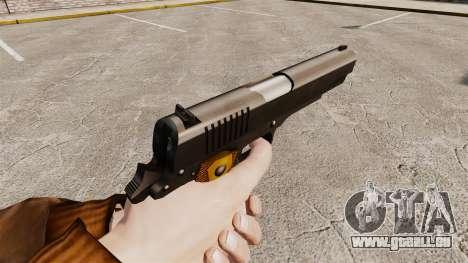 Colt 1911 pistolet v2 pour GTA 4 secondes d'écran