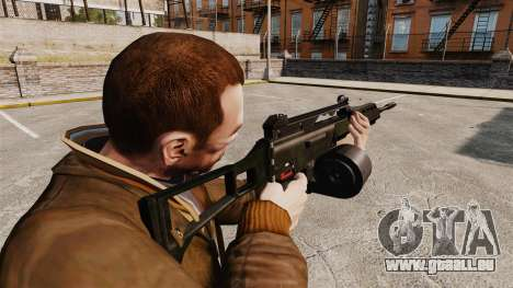 Fusil d'assaut MG36 H & K v2 pour GTA 4 secondes d'écran