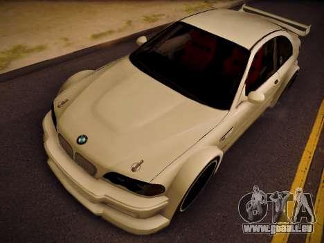 BMW M3 E46 Tuning pour GTA San Andreas vue de droite