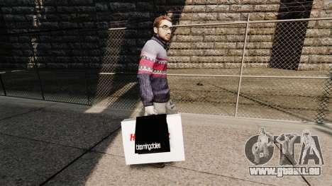 Taschen Bloomingdales und das Hard Rock Cafe für GTA 4