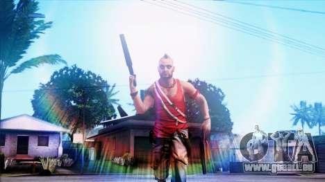 SA::Crown pour GTA San Andreas deuxième écran